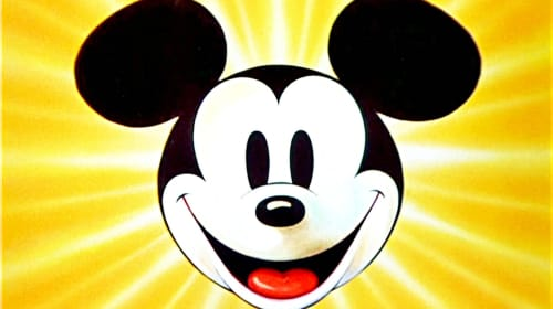 Copyright of Mickey Mouse