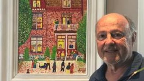 71-Year-Old Retiree Discovers Passion for Painting