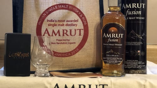 Amrut: Making Whisky and History