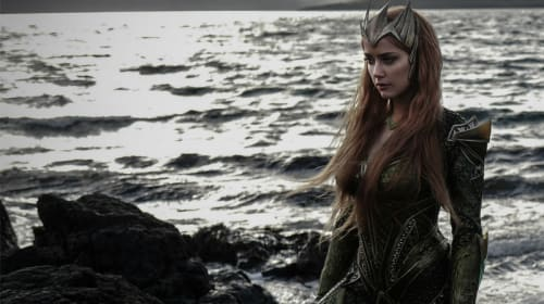Here's Your First Look at Amber Heard As Mera in 'Justice League' — but How Does It Compare With Previous Costumes?