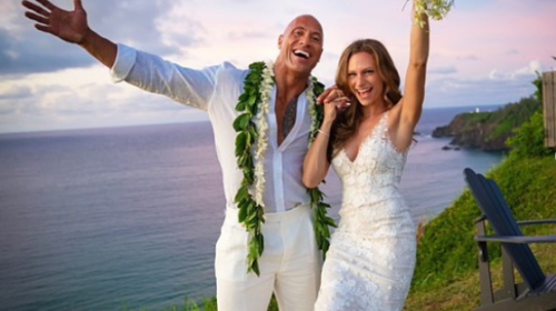 "Dwayne ""The Rock"" Johnson Gets Married in Secret Wedding"