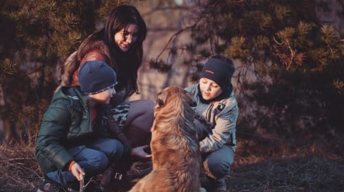 A Pet Isn't Just Fun, It's Also a Tool for Family Unity