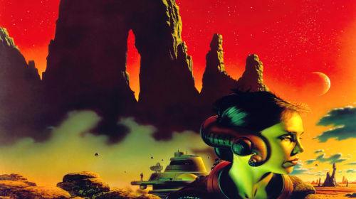 Sci-Fi Artist Chris Moore's Illustrative Universe
