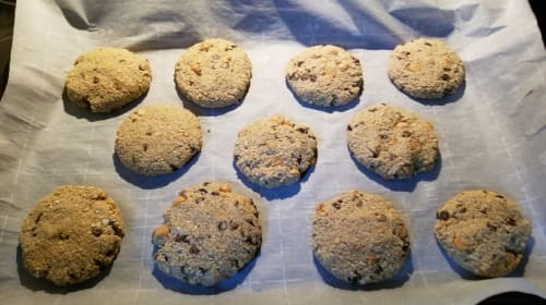 Gluten-Free Butterscotch Chocolate Chip Oat Cookies