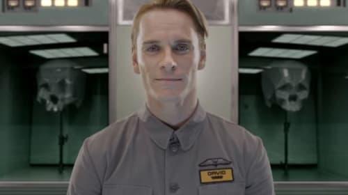 Bye Bye Blondie - First Look At Michael Fassbender In 'Alien: Covenant'!