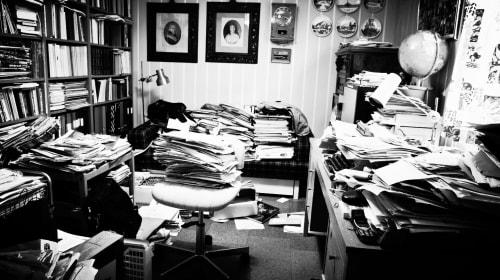 Inside a Writer's Office