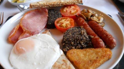 Enjoying Food in Scotland