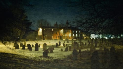 Is Howard Street Cemetery Haunted by a Wizard?