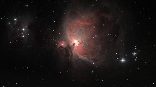 Orion's Great Nebula M42