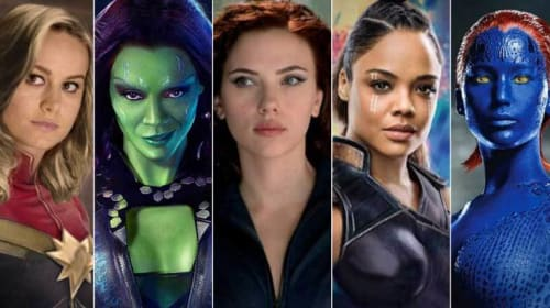 Superheroes and the Female Identity