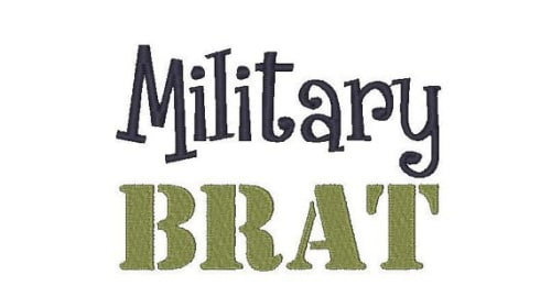 Growing Up as a Military Brat