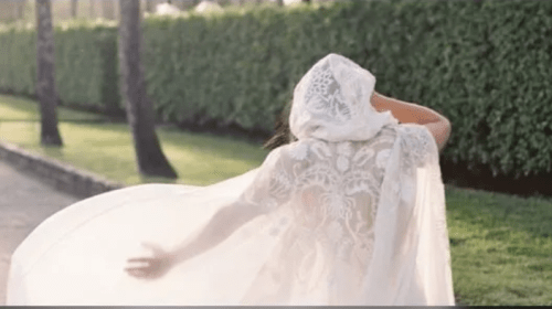 Would You Wear a Cape to Your Wedding?