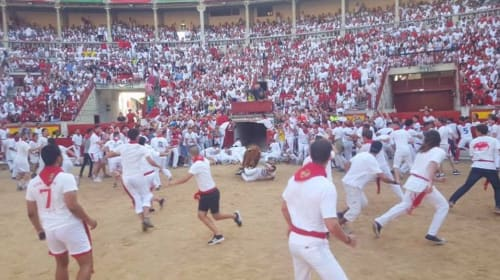 The Running of the Bulls