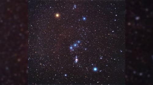 Navigating the Night Sky: Orion