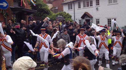 Paint Your Face and Be Part of an Ancient Pagan Festival In England