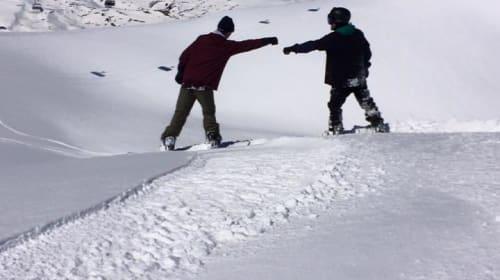 Ski-Winging
