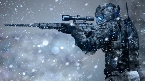 Lone Wolf: Predator in the Snow