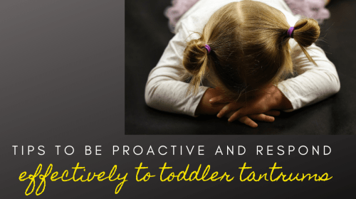 What I've Learned About Tantrums