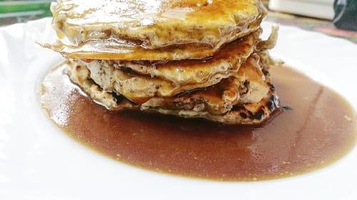 Homemade Fluffy Vegan Pancakes