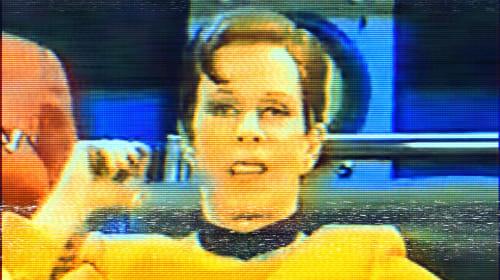 Carol Burnett's Captain Kirk Impersonation