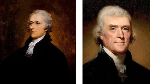 Jefferson and Hamilton