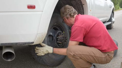 Bob and the Tire Change