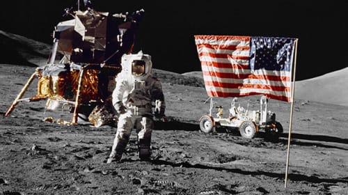 Is the Moon Landing Extra Terrestrial Misdirection?