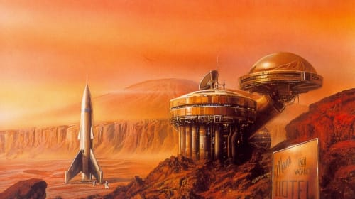 Best Sci-Fi Books About Mars