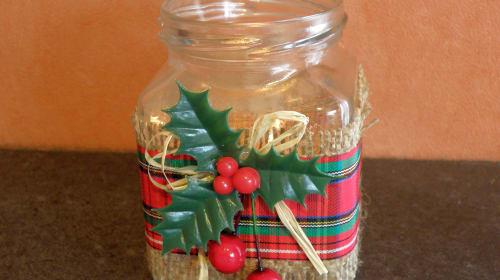 Easy Christmas Jar