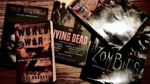 I Have An Insane Amount of Zombie Books