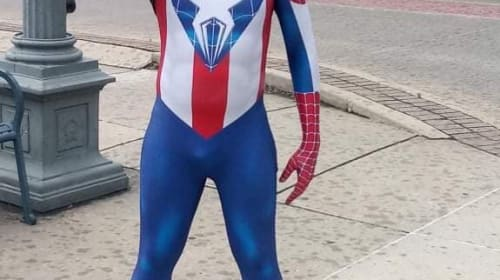 Captain Spider-Man Costume Review