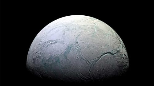 Evidence for Life on a Saturn Moon