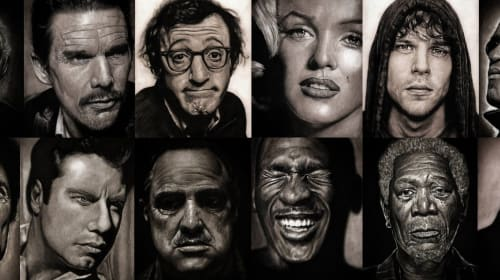 Are They Photos? 20 Realistic Celebrity Drawings You Have To See To Believe