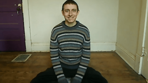 This Man Sits and Smiles for 4 Hours, but Why?