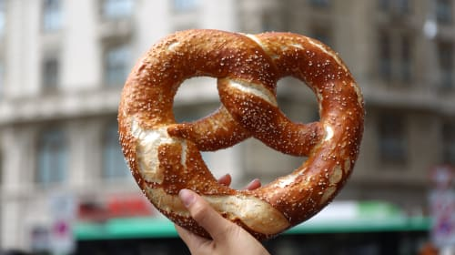 Blessed Be Thy Pretzel