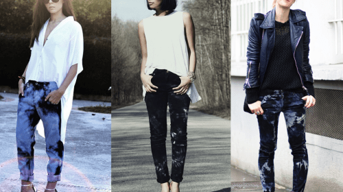 How to Wear Tie Dye Jeans like a Pro