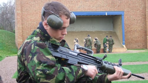 A Comedy of Errors in the British Army UOTC: Part 1