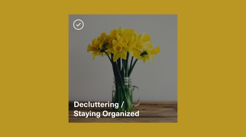 Vocal Verified—Decluttering and Staying Organized