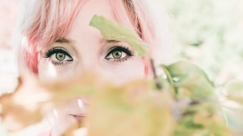 Allie with the Emerald Green Eyes