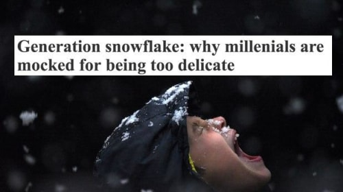 """Why the """"Snowflake Generation"""" Is Worth More Than That Term"""