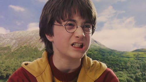 A Casual Retelling of 'Harry Potter and the Sorcerer's Stone' Through Film Screencaps
