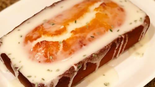 Lemon Thyme Ricotta Poundcake