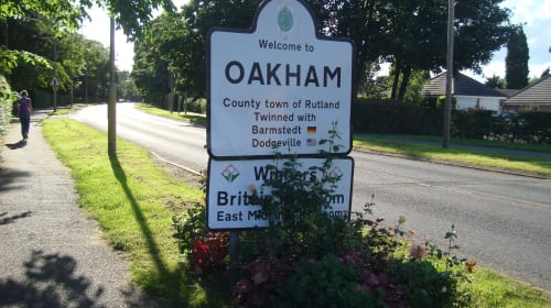 The Quaint English Town of Oakham