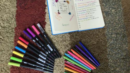 Bullet Journaling 101, but from a Beginner