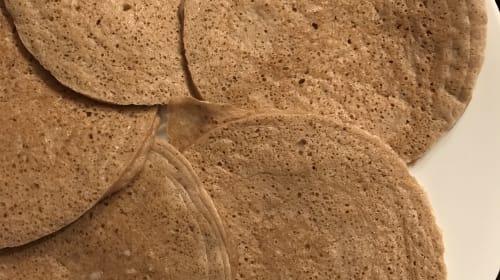 Single-Serving Plantain Pancakes