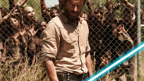 'The Walking Dead' Star Andrew Lincoln Dreams of 'Getting My Hands Around a Lightsaber' — Could He Join Star Wars?