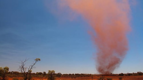 The Dust Devil of Consciousness