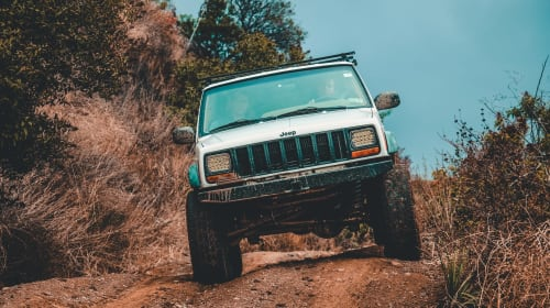 Car Driving Tips on a Rocky Terrain