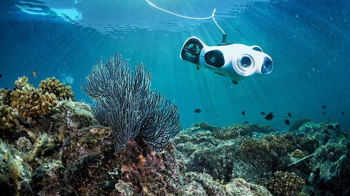 Meet Youcan's BW Space Underwater Drone: The Submersible Drone with a 4K UHD Camera