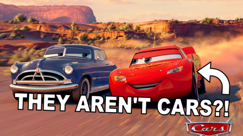 Pixar Theory: Are Cars Really Cars?!